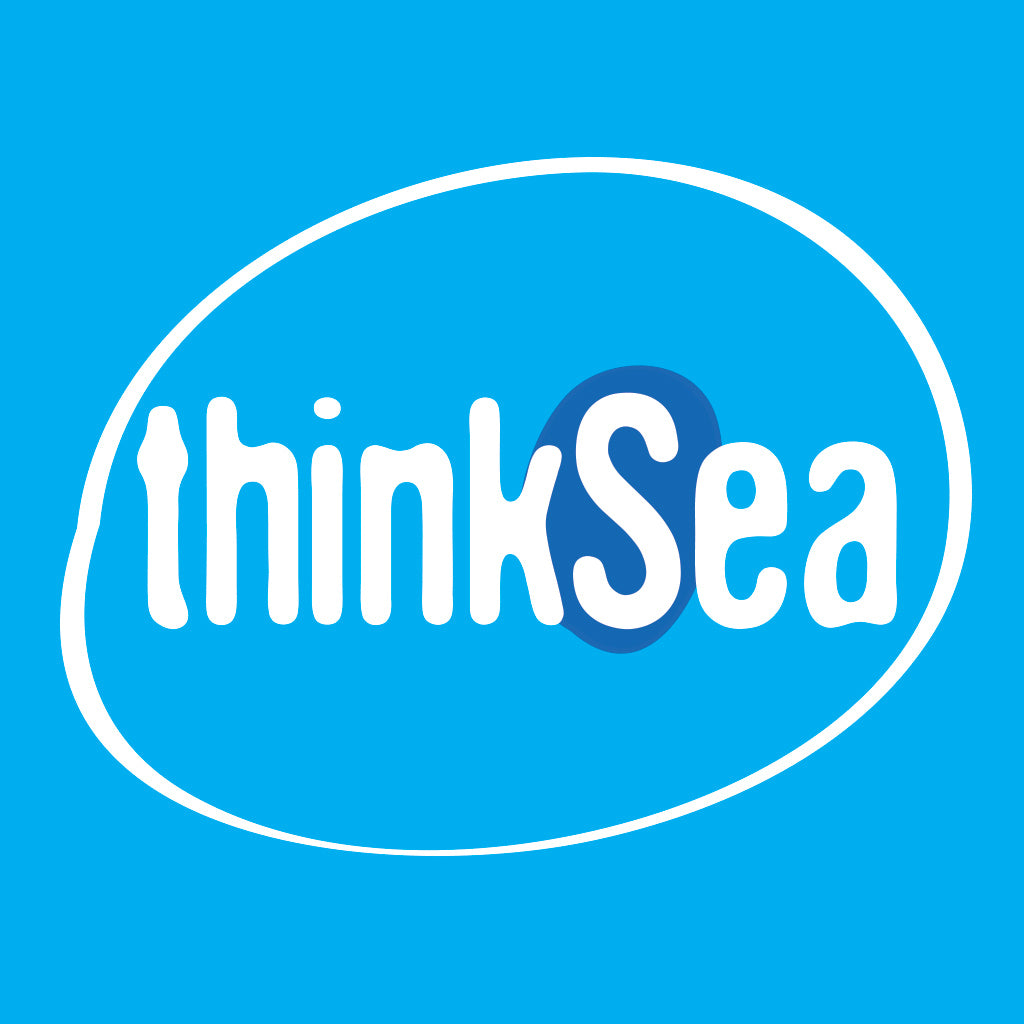 thinkSea Small Bubble Blue-Black Case