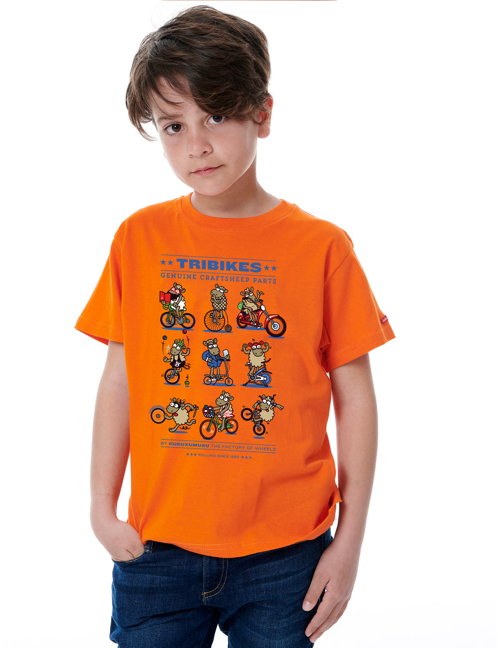 Tribikes Boys T-Shirt