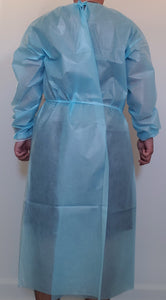 [PACK of 100] Isolation Gown AAMI Level 2, 50gsm