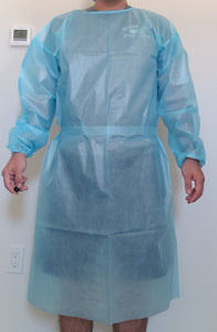[PACK of 10,000] Isolation Gown AAMI Level 1, 43gsm