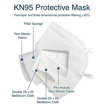 [PACK of 50] KN95 Mask FDA Registered [In U.S] Shipping Included