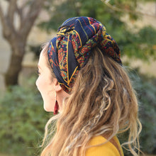 NAVY SPLASH Headwrap