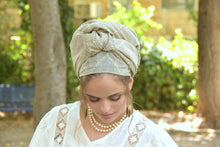 Crafted Taupe Headscarf