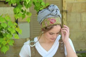 Lotus Headwrap
