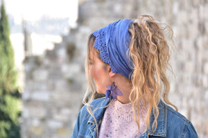 Special Blue Waves Headband