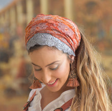 Orange Pop Headwrap