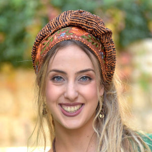 Autumn Orange Headband