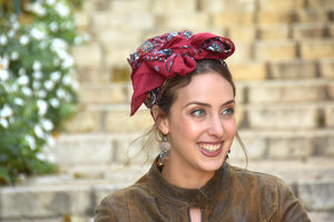 Red Headscarf