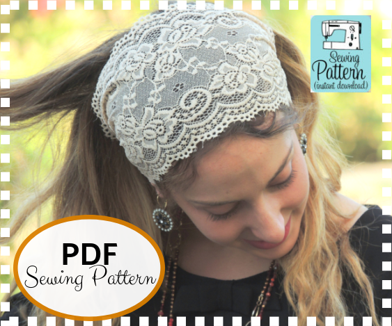 How To Sew Your Lace Headband