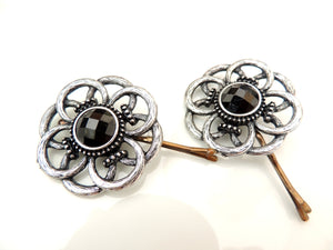 Flower Antique Hair Pin