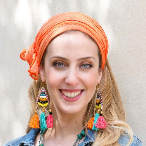 Soft Orange Headband