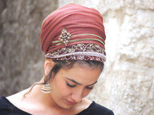 How To Sew Your Headscarf