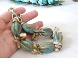 Old Turquoise Necklace