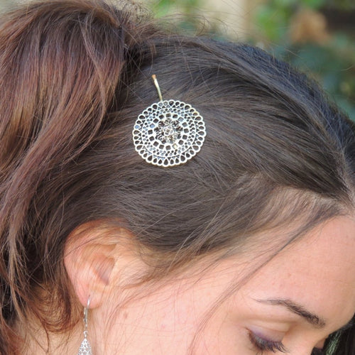 Vintage Gold Hair Pin
