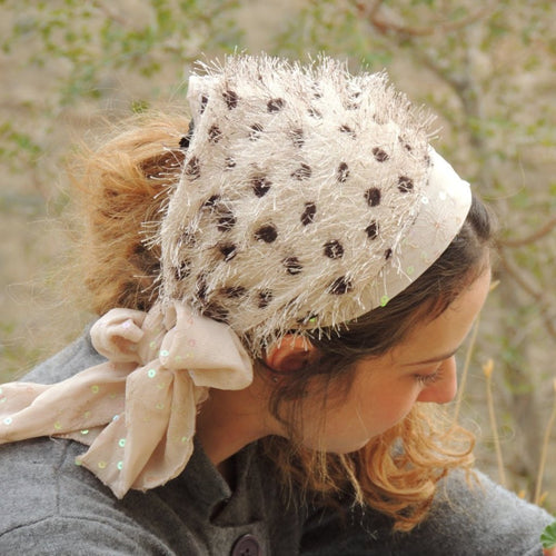 Dotted Winter Headband