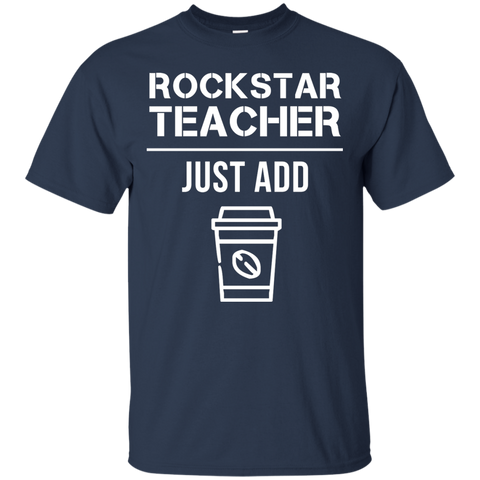 Rockstar Teacher Men's Shirt