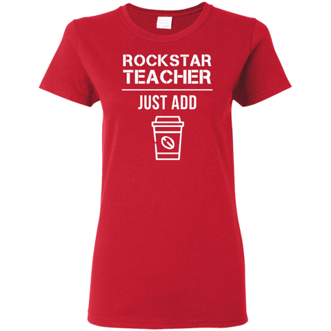 Rockstar Teacher Women's Shirt