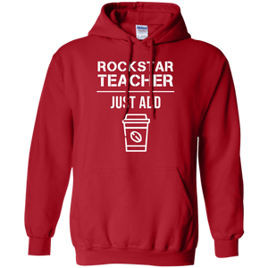 Rockstar Teacher Men's Hoodie