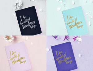 Limited Edition Colors of the PleaseNotes Journal