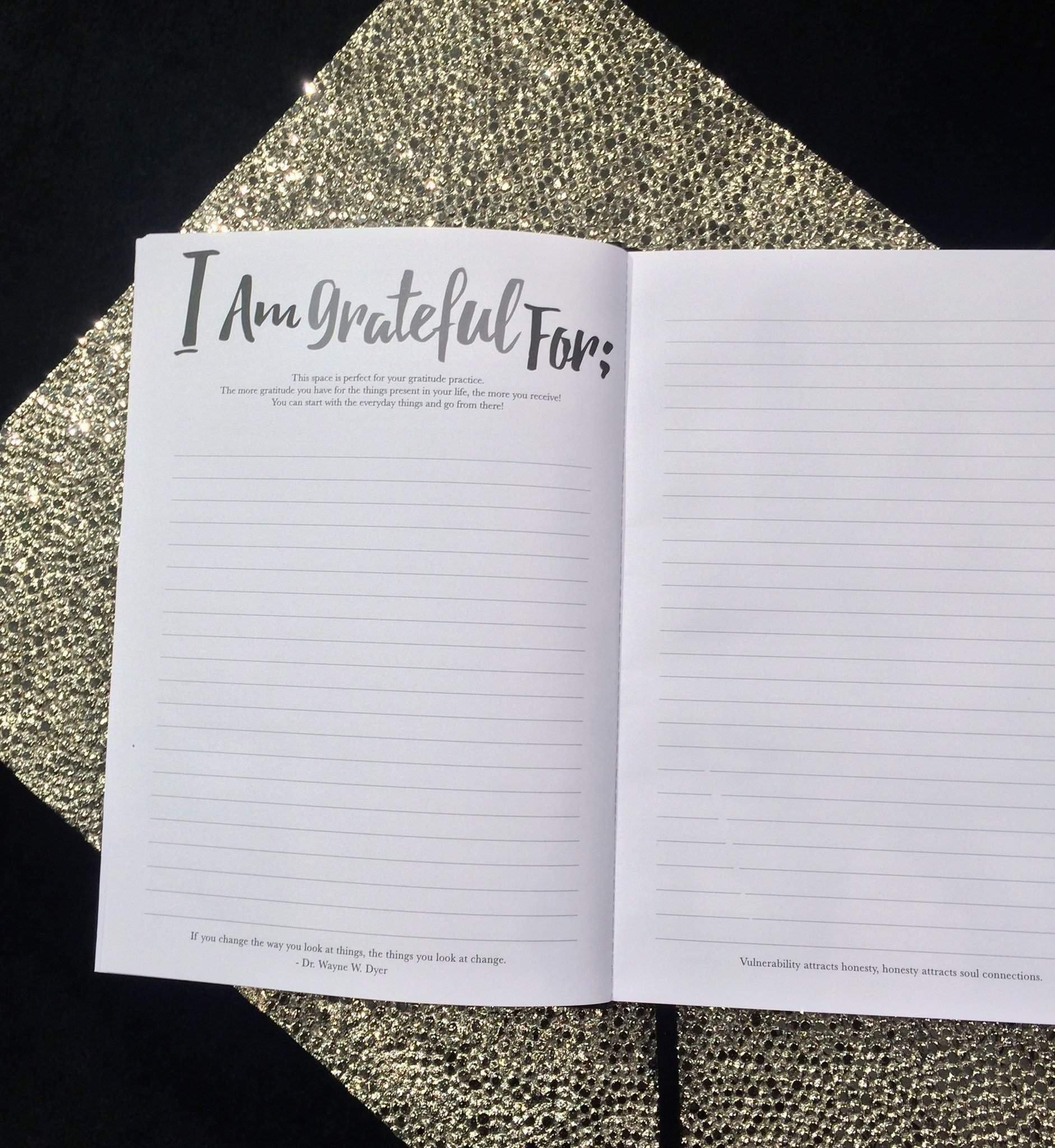 The Journal-Journal-PleaseNotes-PleaseNotes Guided Journal filled with affirmations and inspirational quotes from today's thought leaders.