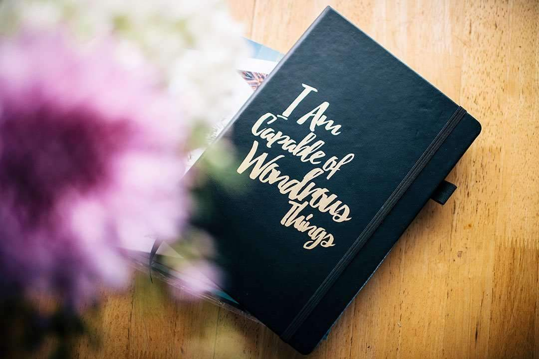 I Am capable Journal - I am capable of wondrous things journal - Please notes - PleaseNotes Journal - gratitude journal