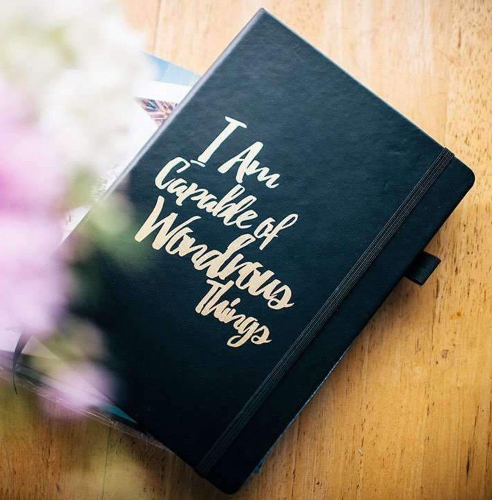 I Am capable Journal - Law Of Attraction Journal -  I am capable of wondrous things journal - Please notes - PleaseNotes Journal - Affirmation Journal - Gratitude Journal - Daily Journal - Luxury Journal - Self Love Journal - Positivity Journal