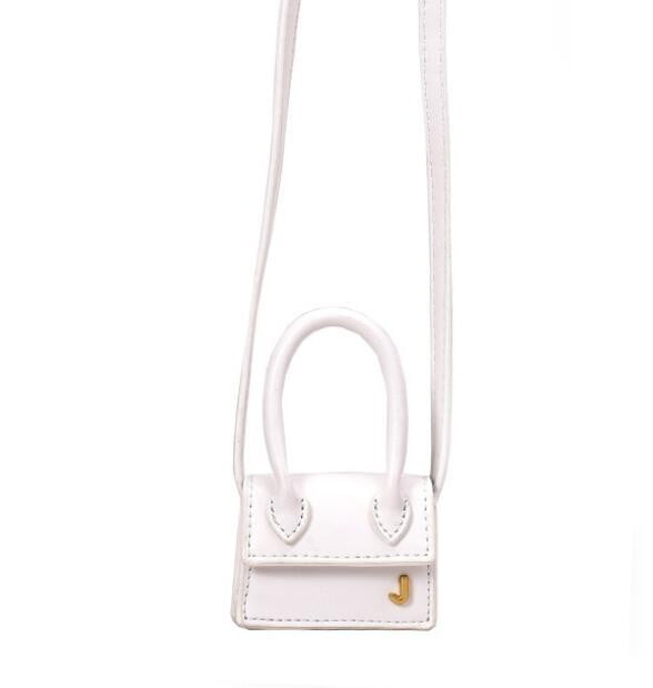 Luxury brand personality embroidered slung hanging decoration mini bag - klozetstyle.com