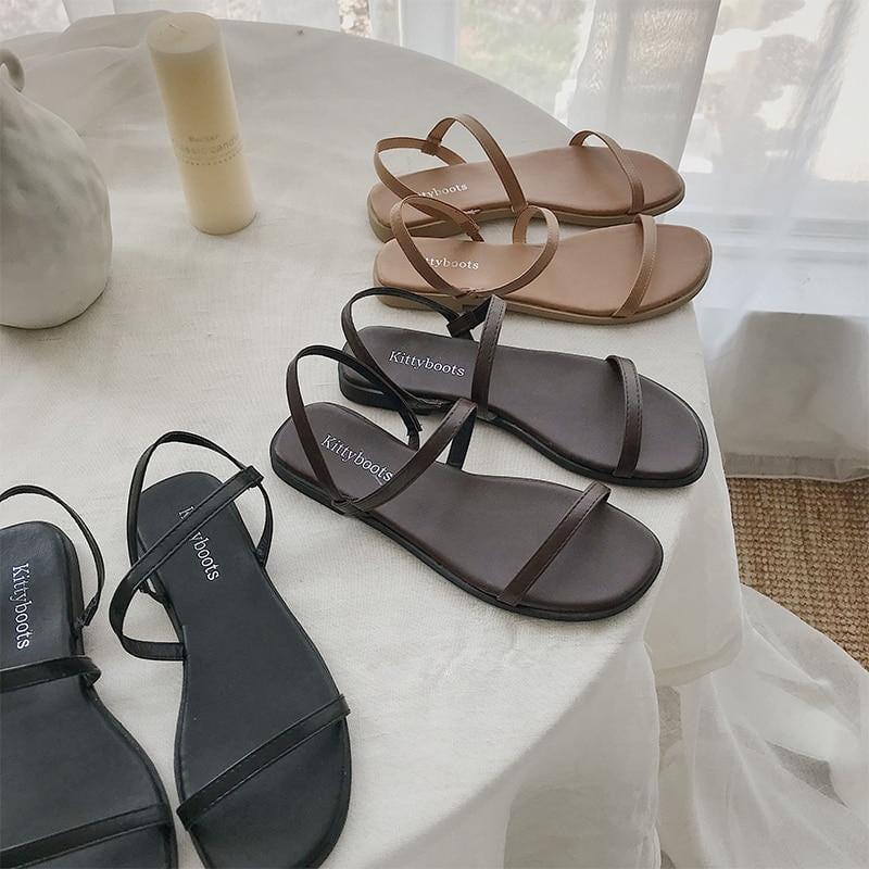 Outdoor Slip On Soft Flip Flops Classics Beach Slippers - klozetstyle.com
