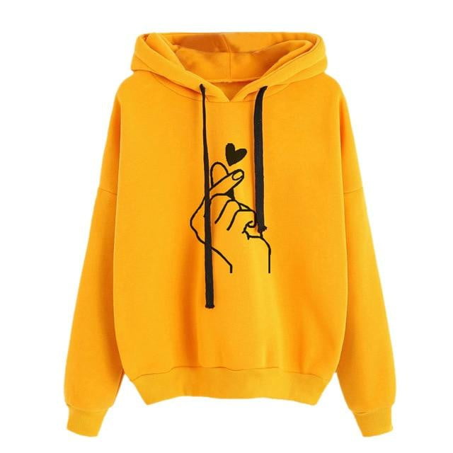 Love Sign Sweatshirt Hoodie Jackets - klozetstyle.com