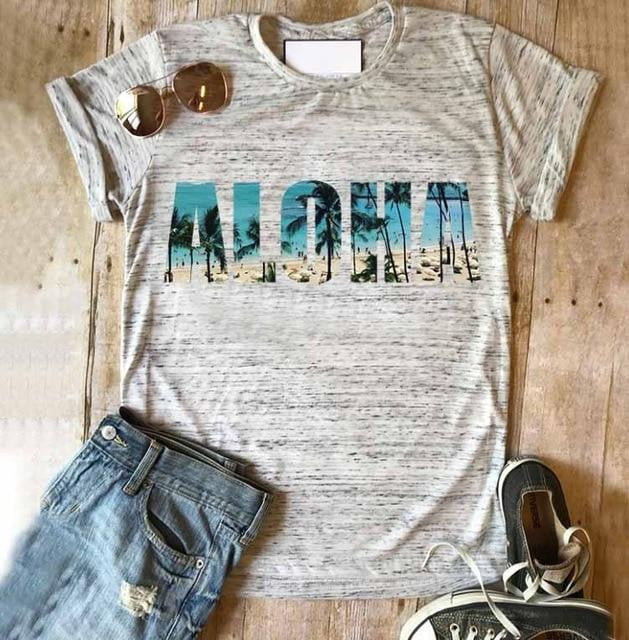 ,klozetstyle-com,Take a walk on the wild side print punk o-neck graphic vintage tee