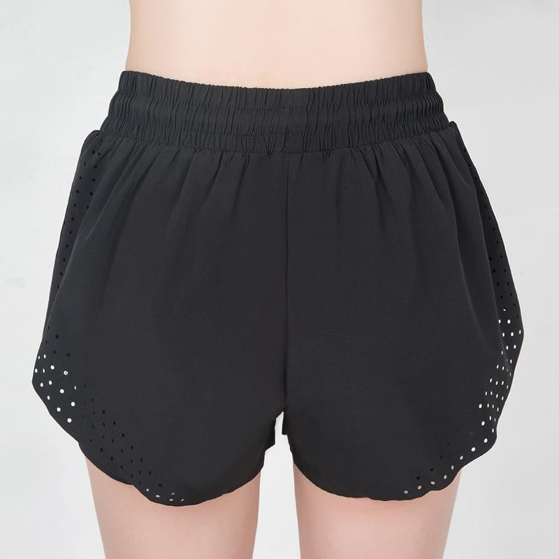 ,klozetstyle-com,Double Layer Fast Dry Workout Yoga Shorts