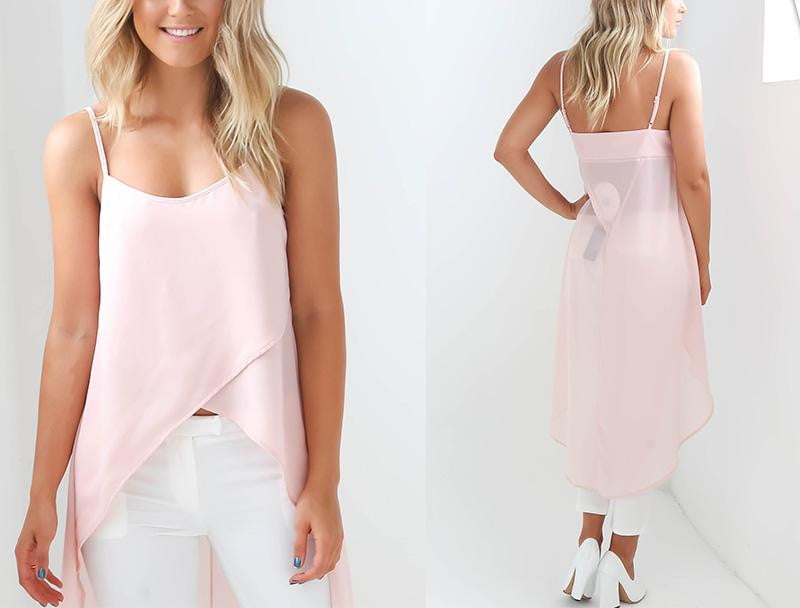 Chiffon Beach Dress - klozetstyle.com