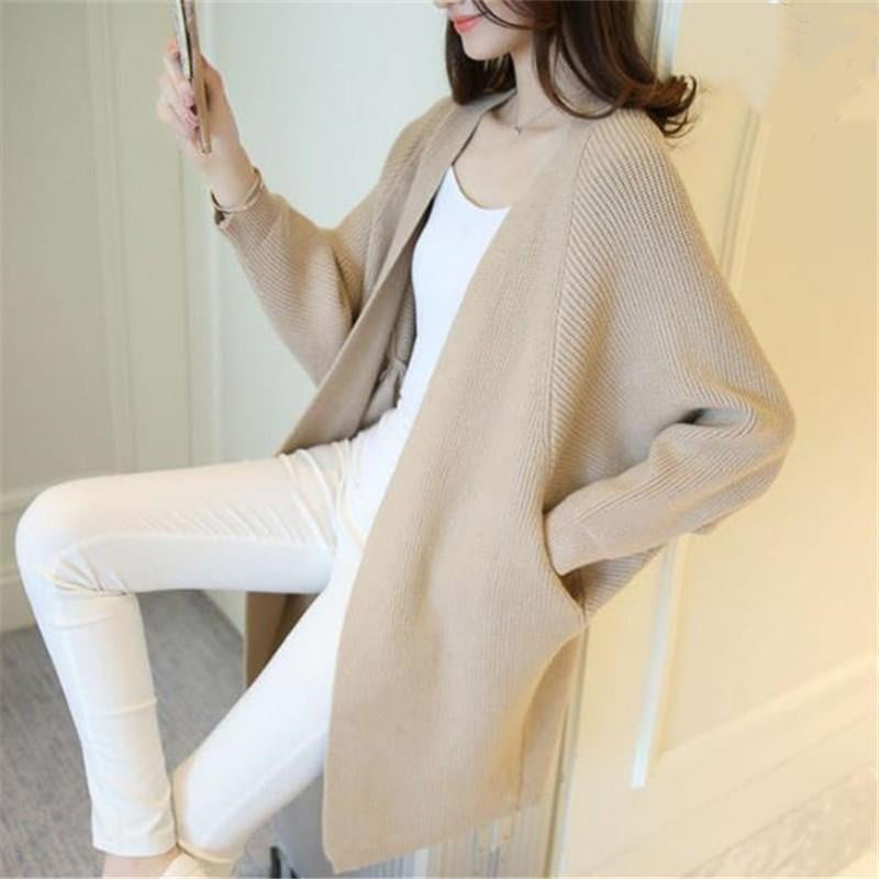 Winter Thick Loose Sweater Cardigan - klozetstyle.com