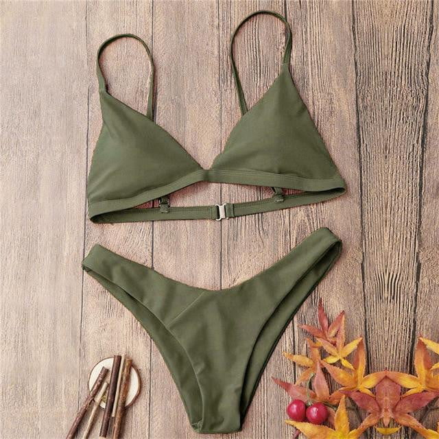 Push-Up Padded Bikini Set - klozetstyle.com