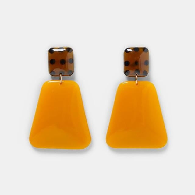 Fashion, Resin Drop Earrings - klozetstyle.com