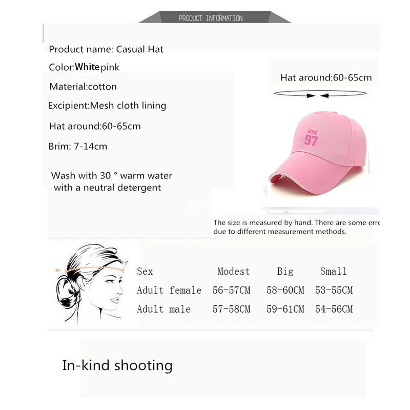Blackpink Signature Adjustable baseball hat - klozetstyle.com