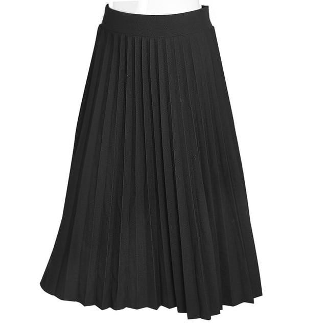 High Quality Pleated Skirt - klozetstyle.com