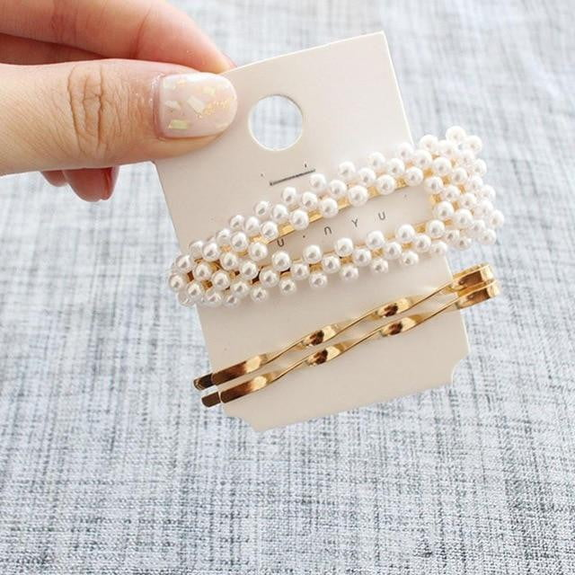 Pearls alloy Hair Clips | Hair Accessories - klozetstyle.com