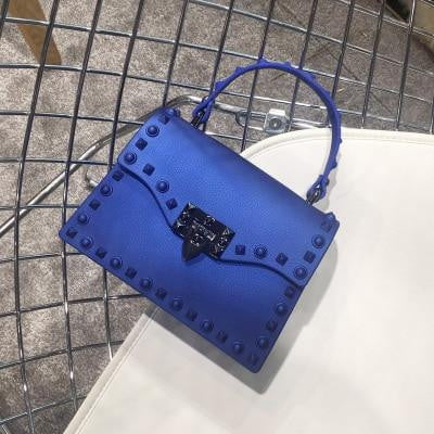 Rivet PVC Jelly Bag - klozetstyle.com