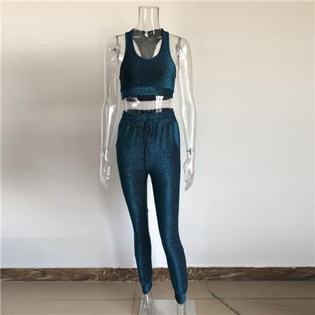 Two piece set top and pants - klozetstyle.com