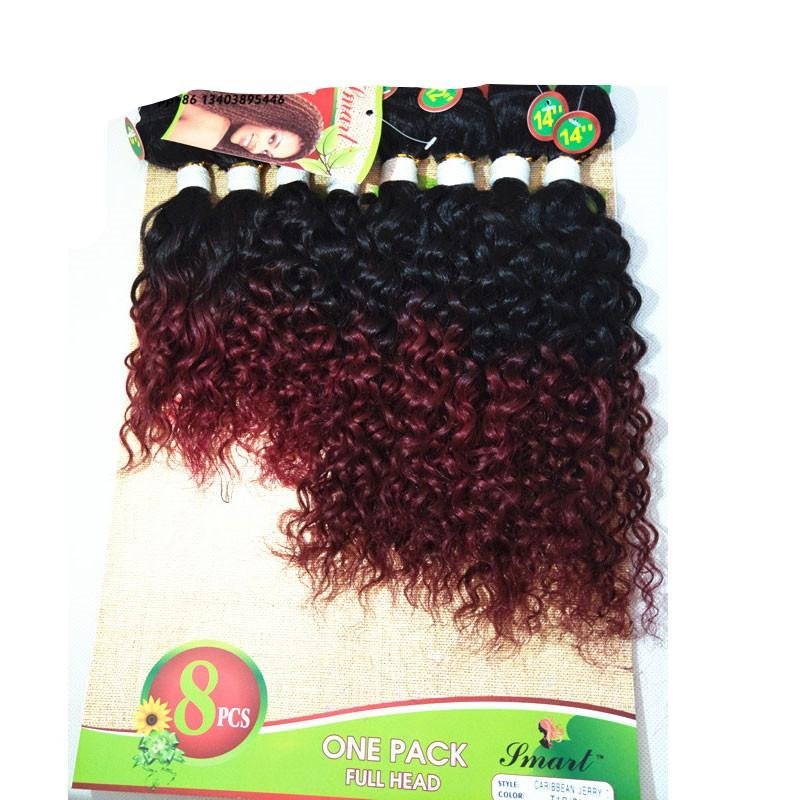 Mongolian Kinky Curly Hair Crochet Hair Extensions Afro Kinky Curly