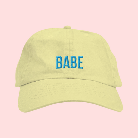 BABE Yellow Hat