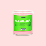 HASHTAG FIELD GOALS CANDLE