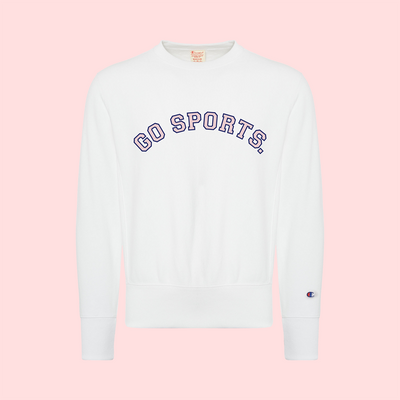 GO SPORTS CHAMPION CREWNECK