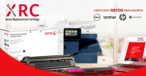 Quality Copy XRC. Cartuchos Xerox compatibles con Equipos HP, Lexmark, Brother y Dell.