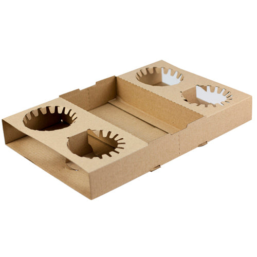 Card board Carry Trays