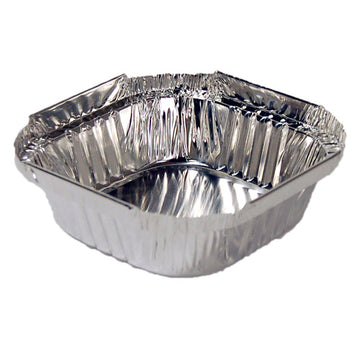 Foil Containers Square Small Deep