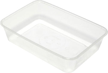 Plastic Takeaway Rectangular Container