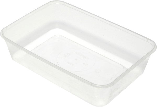 Plastic Takeaway Rectangular Lid Freezer Grade