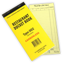 Duplicate Restaurant Docket Book